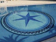 泳池马赛克拼图11